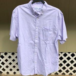 Old Navy periwinkle collard men's button shirt